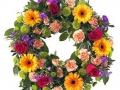mixed open wreath