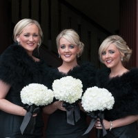 BRIDESMAIDS BLACK